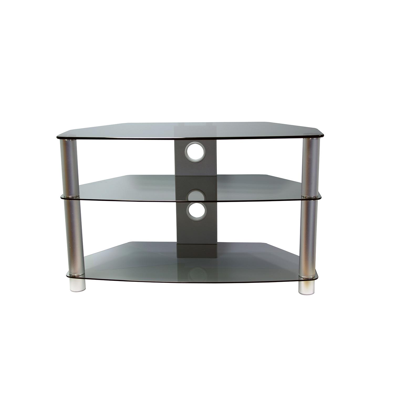 Vivanco BRISA 1000B 1000mm Black Glass Stand