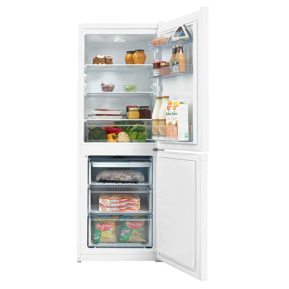 Beko Coffee Maker Red Light : Beko CCFM1552W 55cm Frost Free Fridge Freezer - Stuart Westmoreland