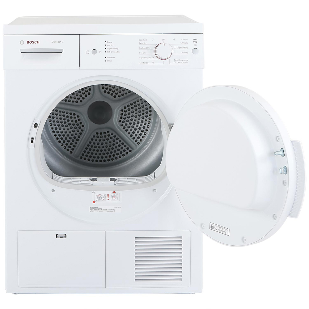 Bosch Dryer: Bosch WTE84106GB 7Kg Condenser Tumble Dryer