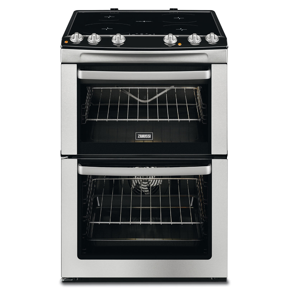 Zanussi Zci660exc 60cm Electric Cooker With Induction Hob