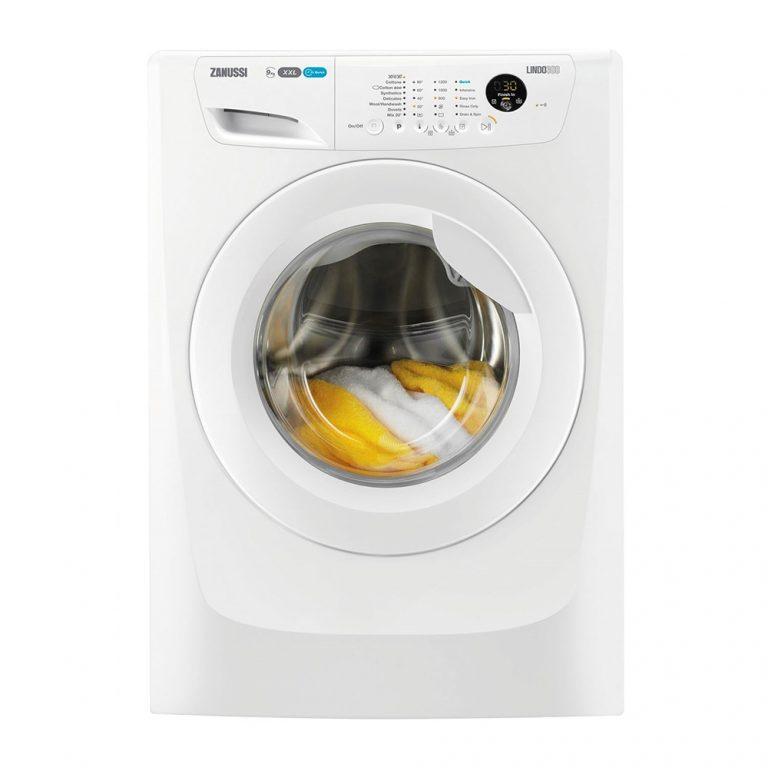 zanussi zwf91283w 9kg spin washing machine
