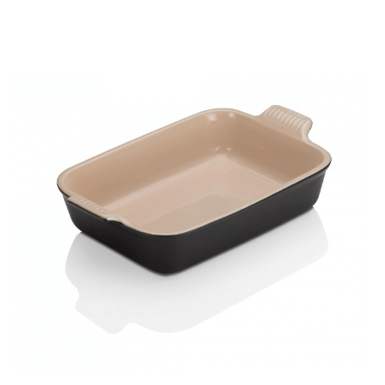 Le Creuset Deep Rectangular Dish 26 Satin Black Stuart