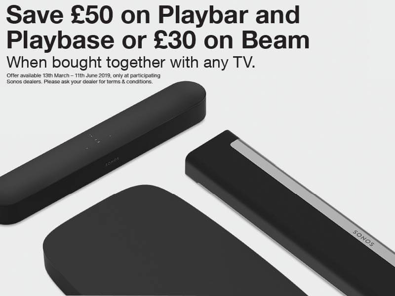 Sonos Save on Home Cinema