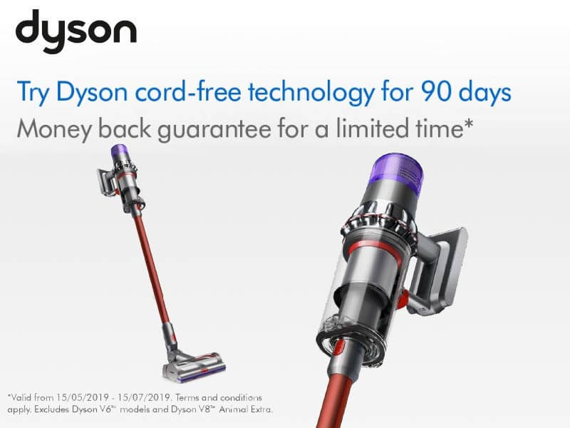 Dyson 90 Day Money Back Guarantee